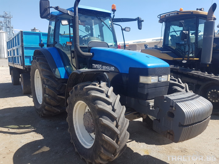 Трактори New Holland TM165 0 - Трактор БГ
