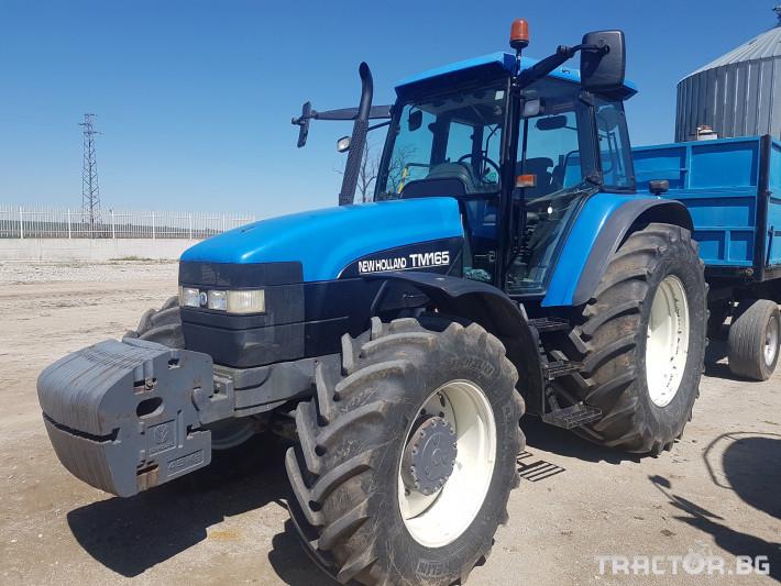 Трактори New Holland TM165 1 - Трактор БГ